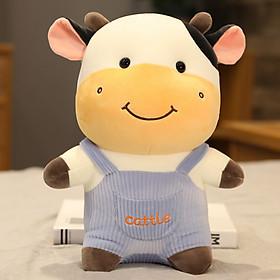Gấu bông gối ôm bò sữa siêu đẹp siêu cute, Gấu bông sang trọng, Đồ chơi thú bông