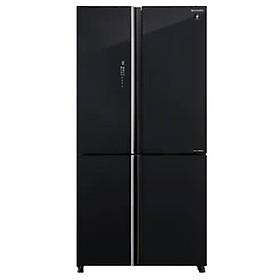 Tủ lạnh Sharp Inverter 525 lít 4 cửa SJ-FXP600VG-BK Model 2021 - Hàng chính hãng (chỉ giao HCM)