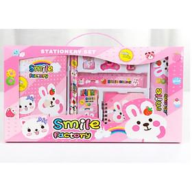 Bộ dụng cụ học tập 10 món hình thỏ dành cho bé