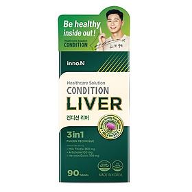 Thực phẩm chức năng giải độc gan Condition Liver hỗ trợ giải độc, tăng cường chức năng gan-Hộp 90 Viên