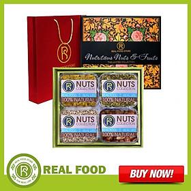 Hộp Quà Sức Khỏe: Thượng Phẩm 4 Món Real Food Store (Tặng kèm túi đựng quà)