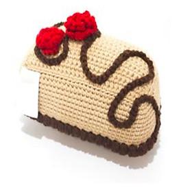 Bánh kem Chocolate Bánh Kem Chocolate - Đồ chơi bằng len Handmade Wowlen
