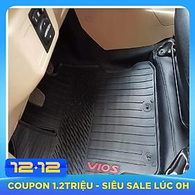 Bộ thảm sàn Vân sọc xe Toyota Vios 2014-2019