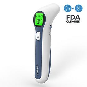Nhiệt kế điện tử hồng ngoại không tiếp xúc đo trán và tai Jumper FR300 (FDA Hoa Kỳ, xuất USA)