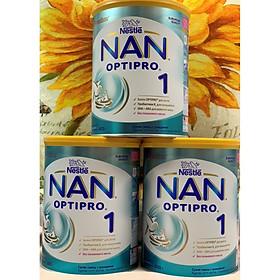 Combo 3 hộp Sữa Bột Nestlé NAN Nga Optipro 1 (800g) - 0 đến 6 tháng