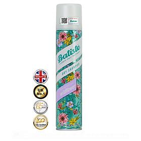Dầu Gội Khô Batiste Hương Hoa Cỏ Nữ Tính, Tươi Mát - Batiste Dry Shampoo Fresh & Feminine Wildflower 200ml