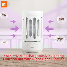 Xiaomi Ecological Chain Electric Mosquito Killer Lamp Portable Mosquito Dispeller Physical Shock Repeller Killer Shock Lamp LED Light Noiseless USB Mosquito Killer For Bedroom Home