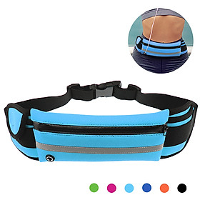 Multifunctional Waist Belt Ultra Light Waist Pouch Waterproof Gym Phone Holder Cellphone Pouch Waist Bag  Running Band