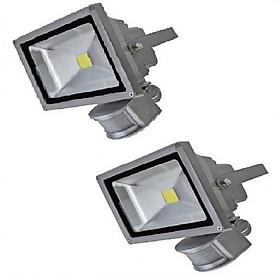 Bộ 2 đèn pha cảm ứng hồng ngoại 20W