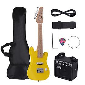Guitar Điện ST Có Túi Đeo Kèm Bộ Khuếch Đại Mini Cho Trẻ Muslady (28inch)