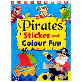 Pirates Sticker And Colour Fun 2
