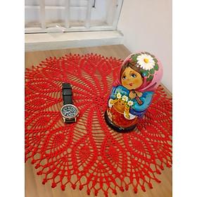 Lót bình hoa đan tay -1182-2
