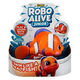 Hình đại diện sản phẩm Cá Robot Thông Minh Tự Bơi Siêu Bền Zuru Robo Alive (Size Lớn) 25253