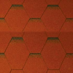 Ngói bitum tổ ong màu dark red