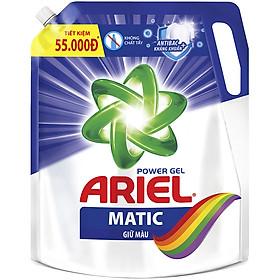 Nước Giặt Ariel Giữ Màu Dạng Túi