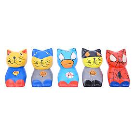 Tượng Siêu Nhân Mèo Đan Như