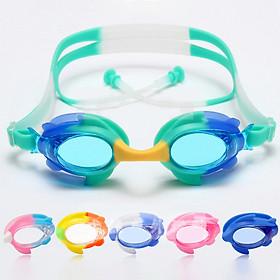 Kính Bơi Dành Cho Trẻ Em Hình Con Cá HA-1920 Chống Nước, Sương Mù, Tia UV Bảo Vệ Tối Đa Đôi Mắt Của Trẻ - Tặng Bịt Tai (Giao Màu Ngẫu Nhiên)