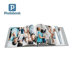 """Photobook: Voucher quà tặng in album ảnh bìa cứng dạng tạp chí ngang cỡ lớn 14"""" x 11"""" (35.5 x 28cm) theo yêu cầu"""
