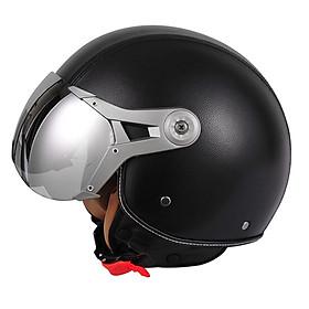 Motorcycle Electromobile Helmet Half Covered Type Electric Half-face Male Retro Helmet Safety Helmet