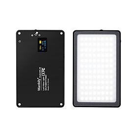 Manbily 8W Fill Light Đèn camera selfie với tính năng hấp phụ từ tính được hỗ trợ bởi USB Độ sáng có thể điều chỉnh có thể làm mờ / Thay đổi nhiệt độ màu để Live Show Chụp ảnh