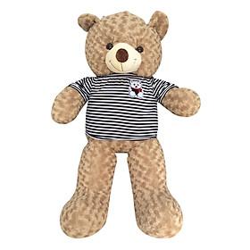Gấu Bông Teddy Khổ Vải Ichigo Shop (1m) - Nâu Sữa