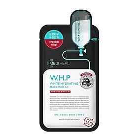 Mặt nạ Than hoạt tính Dưỡng Trắng Da Mediheal W.H.P White Hydrating Charcoal-Mineral Mask 25ml