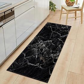 Marble Pattern Door Mat Hallway Runner Bedroom Area Rug Carpet A_40x120cm