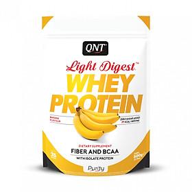 Bột Đạm Whey Hương Vị Chuối hiệu QNT 500g (QNT Light Digest Whey Protein Banana 500g)