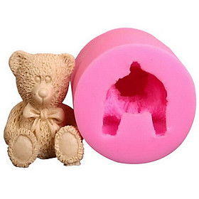 Khuôn rau câu Silicon Gấu Teddy