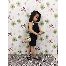 Váy đầm body sành điệu dành cho bé gái, chất cotton mềm mại, thoải mái - Quần áo trẻ em(190393)
