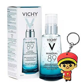 Vichy Mineral 89 Dưỡng chất khoáng cô đặc (50mL, tặng quà móc khoá)