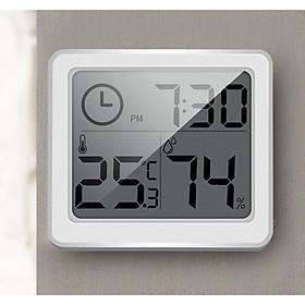 Nhiệt ẩm kế điện tử đo nhiệt độ và độ ẩm 3 trọng 1 model : AK02 Tặng kèm tưa lưỡi silicon