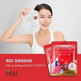 Gói 10 mặt nạ dưỡng da nhân sâm EKEL Red Ginseng ULtra Hydrating Essence Mask