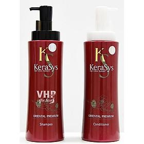 Bộ dầu gội, xả giảm gãy rụng và kích thích mọc tóc KERASYS ORIENTAL C 600ml - Hàn Quốc Chính Hãng