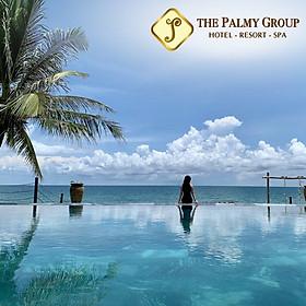 The Palmy Phú Quốc Resort 4* - Buffet Sáng, Hồ Bơi Vô Cực, Bãi Biển Riêng, Trung Tâm Đường Trần Hưng Đạo