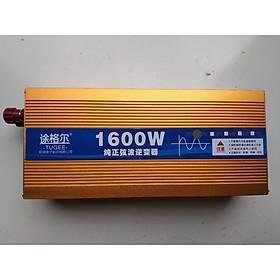 Bộ đổi nguồn 12V/24V  220V 1600W sin chuẩn - Inverter 1600W sine chuẩn