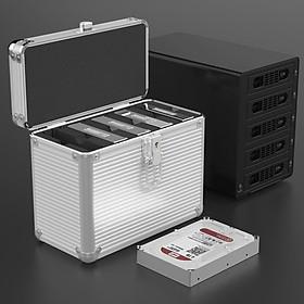 Hộp nhôm bảo vệ 5 ổ cứng BSC35-05