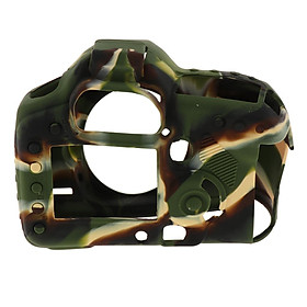 Protective Silicone Camera Case Cover Skin For Canon  5D Mark II 5D2