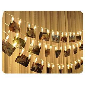 Dây đèn Led kẹp hình- trang trí ngày cưới, ngày sinh nhật, ngày kỉ niệm -  trang trí không gian tiệc, phòng ngủ hoặc không gian yêu thích-  sử dụng điện