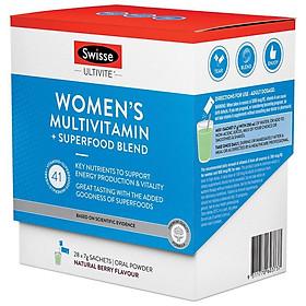 Swisse Ultivite Women's Multivitamin + Superfood Blend 28 pack