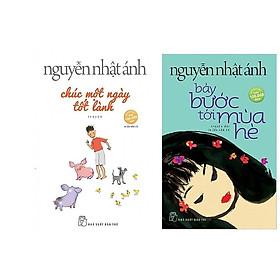Combo Truyện Hay Nguyễn Nhật Ánh: Chúc Một Ngày Tốt Lành (Tái bản )+ Bảy Bước Tới Mùa Hè (Tái bản) Tặng kèm bút chì