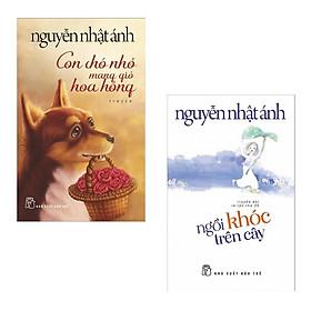 Combo Truyện Nguyễn Nhật Ánh: Con Chó Nhỏ Mang Giỏ Hoa Hồng + Ngồi Khóc Trên Cây (Bộ 2 Cuốn Truyện Dài Được Tìm Đọc Nhiều Nhất - Tặng Kèm Bookmark Happy Life)
