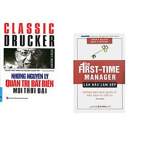 Combo 2 cuốn sách: Những Nguyên Lý Quản Trị Bất Biến Mọi Thời Đại + Lần Đầu Làm Sếp
