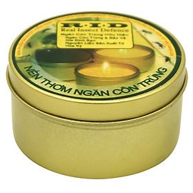 Hộp Nến Tin Thơm Hương Sả Chanh Quang Minh Candle Ftramart RID1496 (Xám)