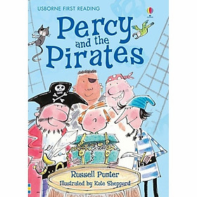 Usborne First Reading Level Four: Percy and the Pirates