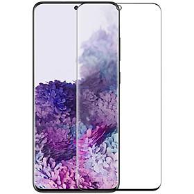 Miếng dán kính  cường lực 3D full màn hình cho Samsung Galaxy S20 Plus hiệu Nillkin CP+ Max (Mỏng 0.3mm, Kính ACC Japan, Chống Lóa, Hạn Chế Vân Tay) - Hàng chính hãng
