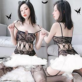 Đồ lót gợi cảm - Cosplay sexy lưới