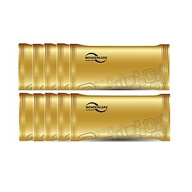 Combo 50 Gói Khăn Ướt Lạnh Wondercare  Vải Bi Loại 1 Miếng Không Mùi ( 5Lốc)