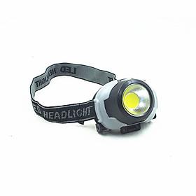Đèn pin đội đầu siêu sáng nhỏ gọn tiện lợi có độ bền cao, an toàn khi sử dụng , thiết kế thông minh, cực kì gọn nhẹ - Hàng Chính Hãng