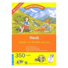 Happy Reader - Heidi Cô Bé Trên Núi Cao (Kèm 01 CD)